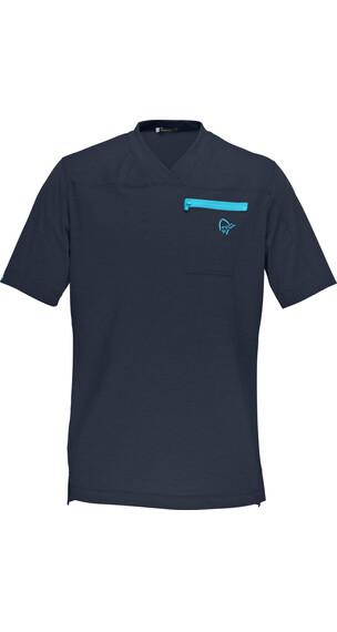 Norrøna Ms' Fjörå Equaliser Lightweight T-Shirt Cool Black